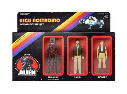 Imagen de ReAction Figure - ALIENS: Pack C (Dallas, Lambert, Bloody Alien)