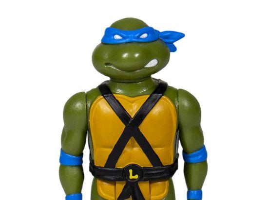 Imagen de ReAction Figure - Teenage Mutant Ninja Turtles TMNT: Leonardo