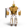 Imagen de ReAction Figure - Robotech: Wave 1 - Valkyrie VF-1A