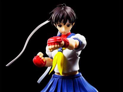 Imagen de S.H. Figuarts Street Fighter: Sakura Kasugano.