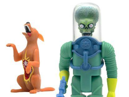 Imagen de ReAction Figure - Mars Attacks: Mars Alien 2 Gun + Burning Dog