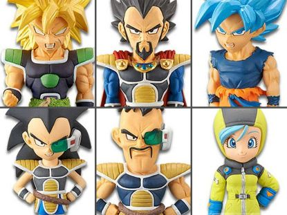 Imagen de **OFERTA**Dragon Ball Super: Broly World Collectable Figure Vol .2 Set of 6 Figures