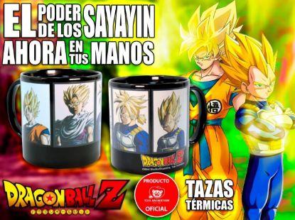 Imagen de Taza Dragon Ball Z - Super Saiyans