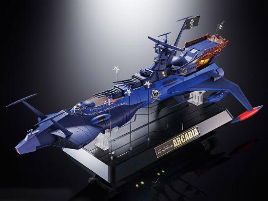 Imagen de Soul of Chogokin GX-93 Space Pirate Battleship Arcadia - Space Pirate Captain Harlock