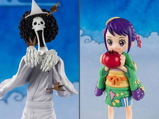 Imagen de One Piece FiguartsZERO Brook (Honekichi) and O-Tama